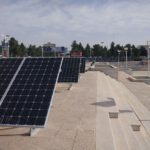 Solar power plant project connected to Qom municipality network