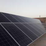 پروژه نیروگاه خورشیدی کارخانه یخ استان قم