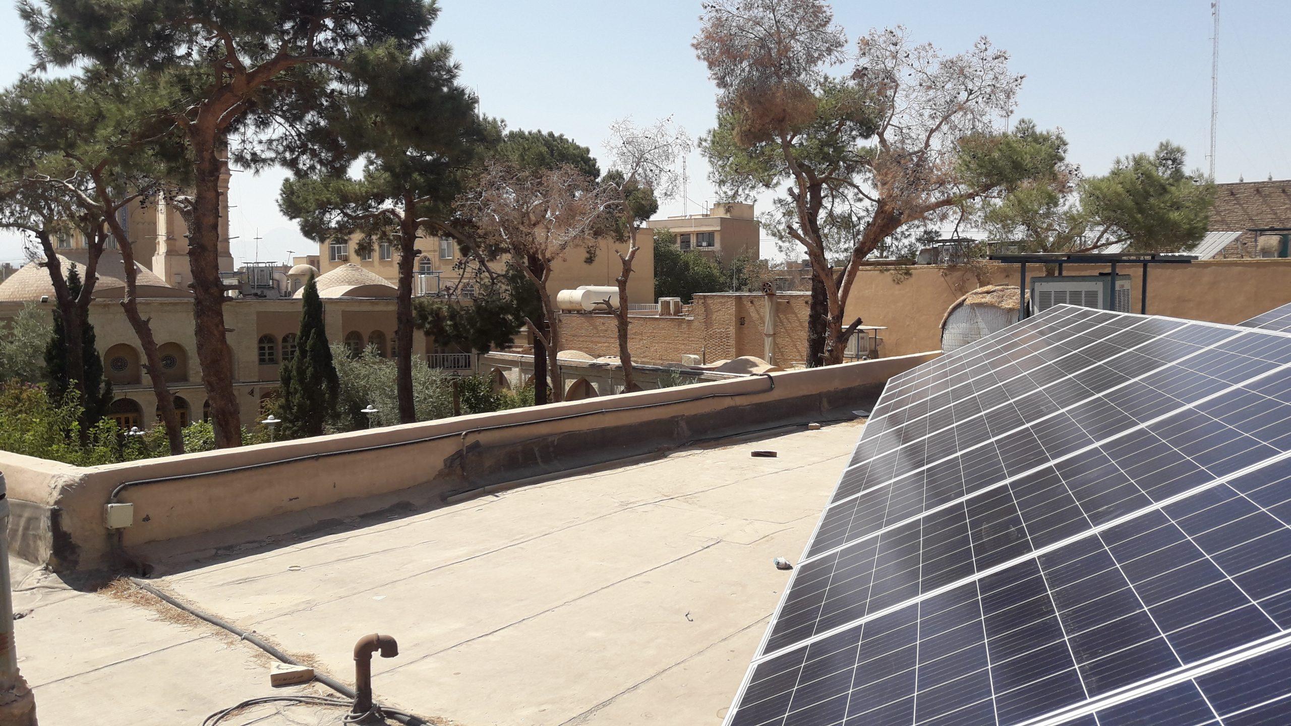 نیروگاه خورشیدی استان یزد