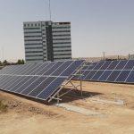 احداث سامانه خورشیدی سازمان منابع طبیعی استان قم