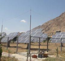 اصلاح و بهینه سازی نیروگاه خورشیدی دانشگاه رازی کرمانشاه